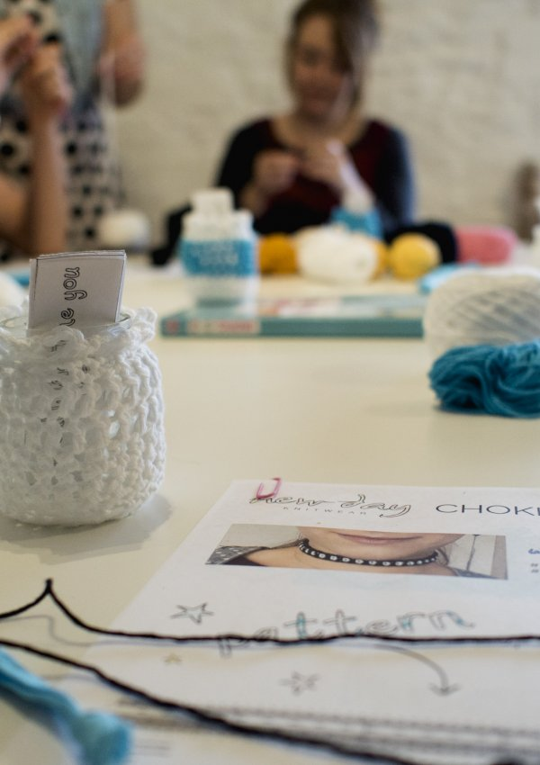 Talking About Mental Health (An Afternoon at New Day Knitwear)