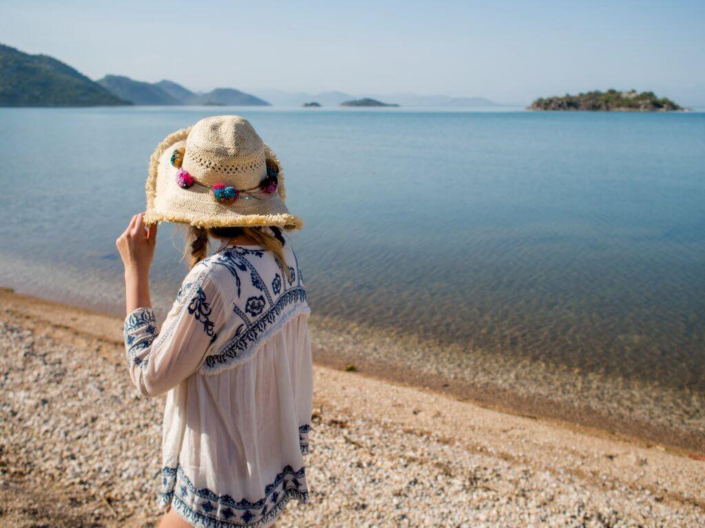 Lake Skadar - White Stuff Beach Coverup