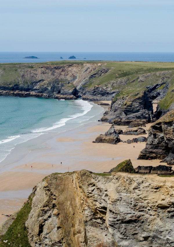 Hiking Around Bedruthan Steps