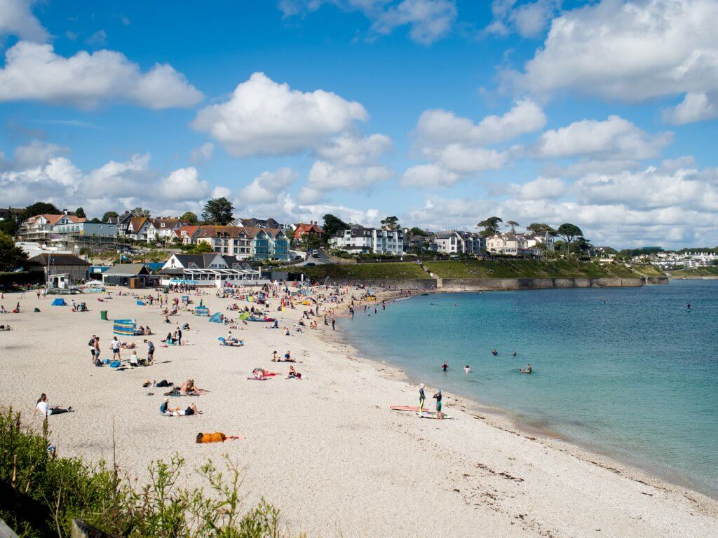 5 Best Beaches in Cornwall - Gylly Beach in Falmouth
