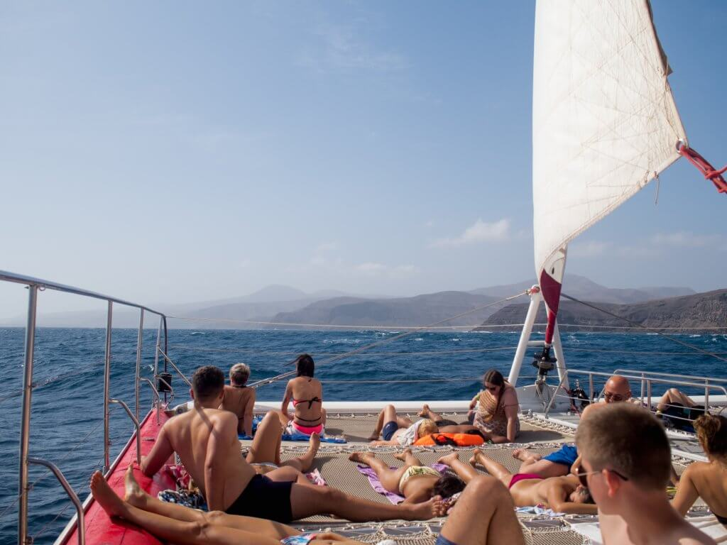 Catamaran in Fuerteventura