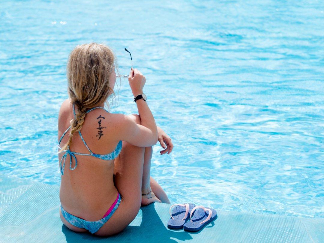 Haines flipflops and Zennor Bikini