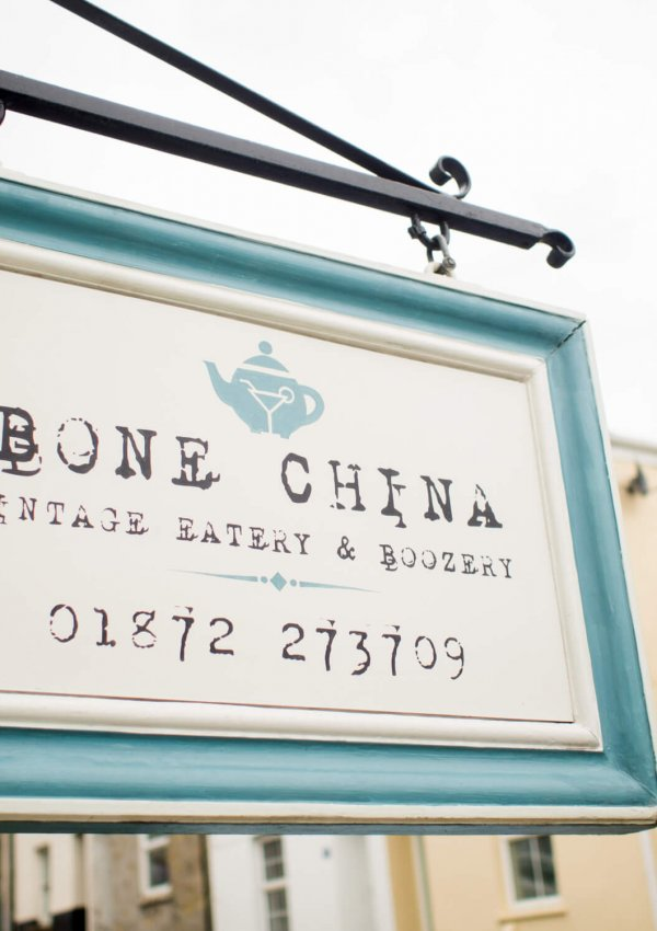 1940s Vintage Lunch at Bone China in Truro