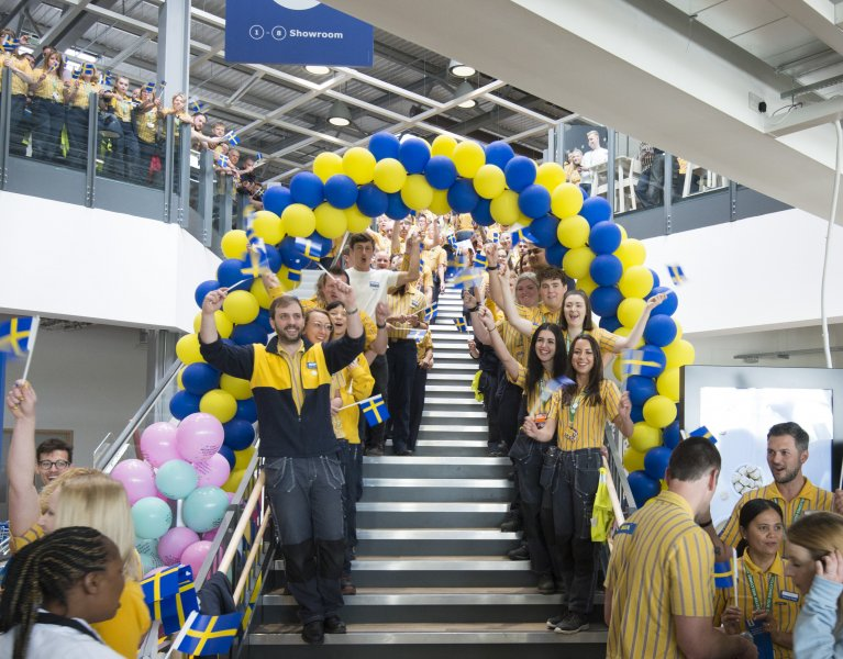 Photo by Theo Moye 10/05/18 IKEA opens its 21st UK store in Exeter.