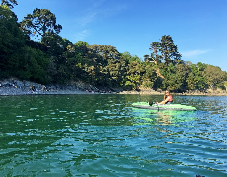 Kayaking at Durgan