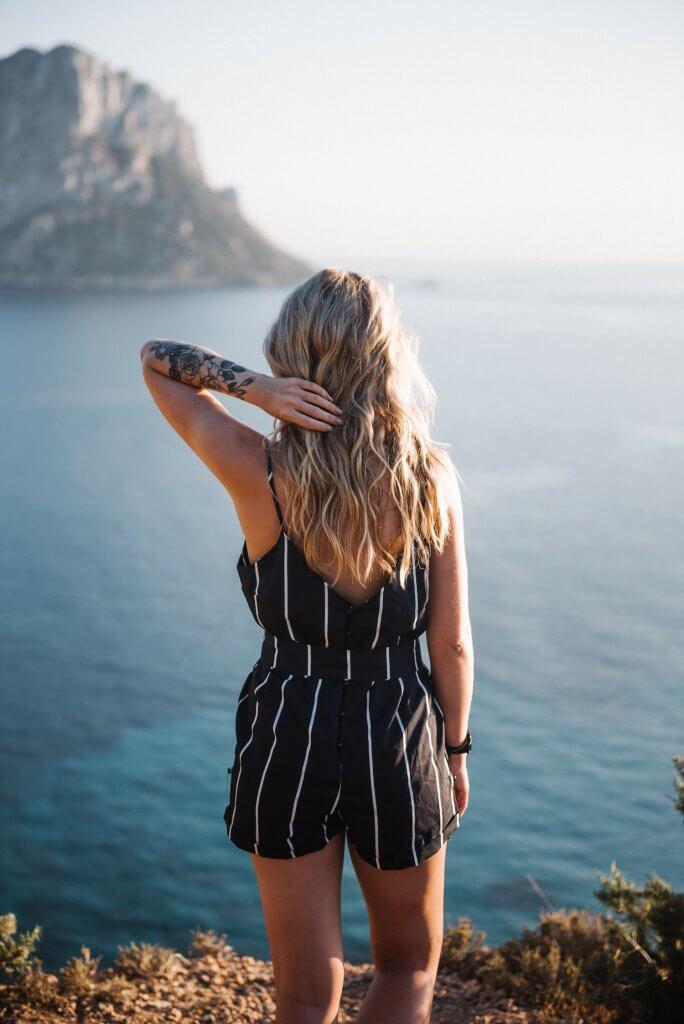 Coast in Ibiza