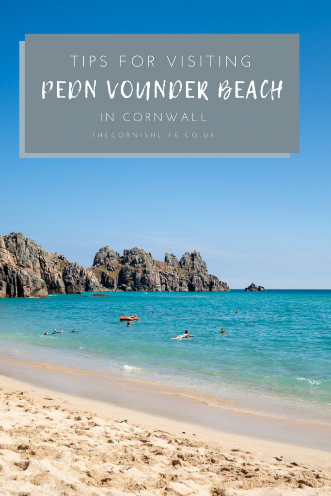 Tips for Visiting Pedn Vounder Beach in Cornwall (parking, getting there, what to pack)