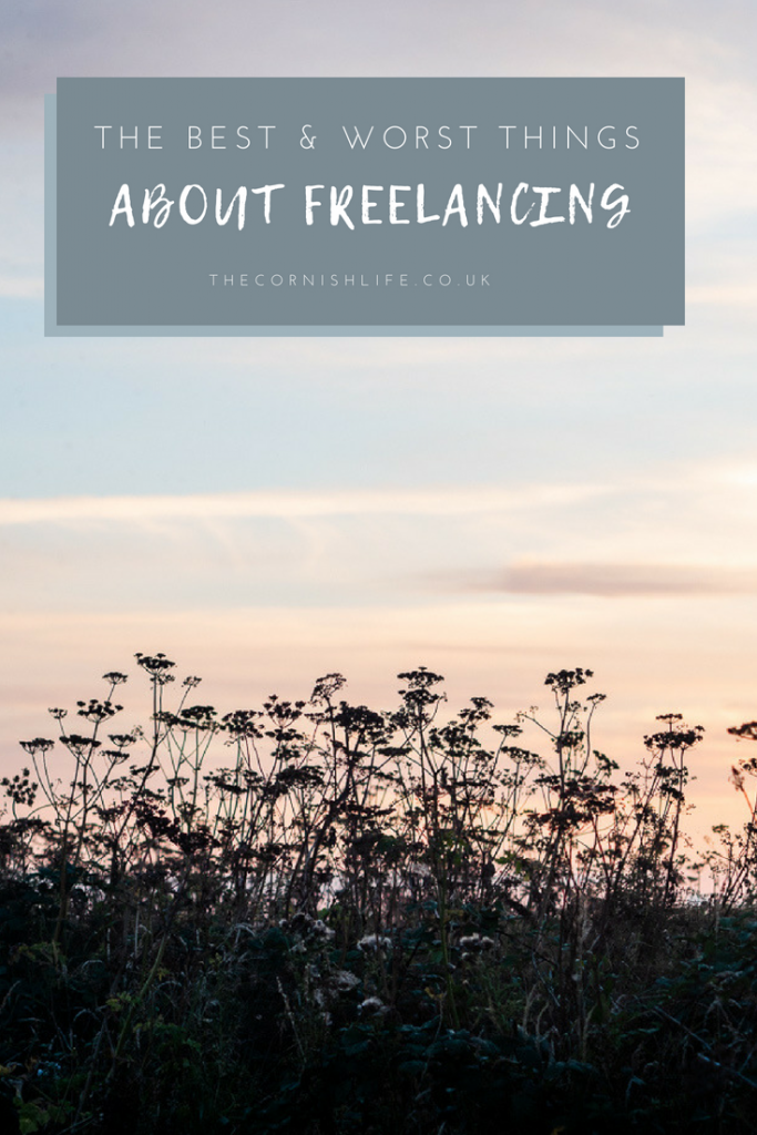 The Best and Worst Things About Freelancing - pros and cons of being your own boss. Being self employed has its challenges!
