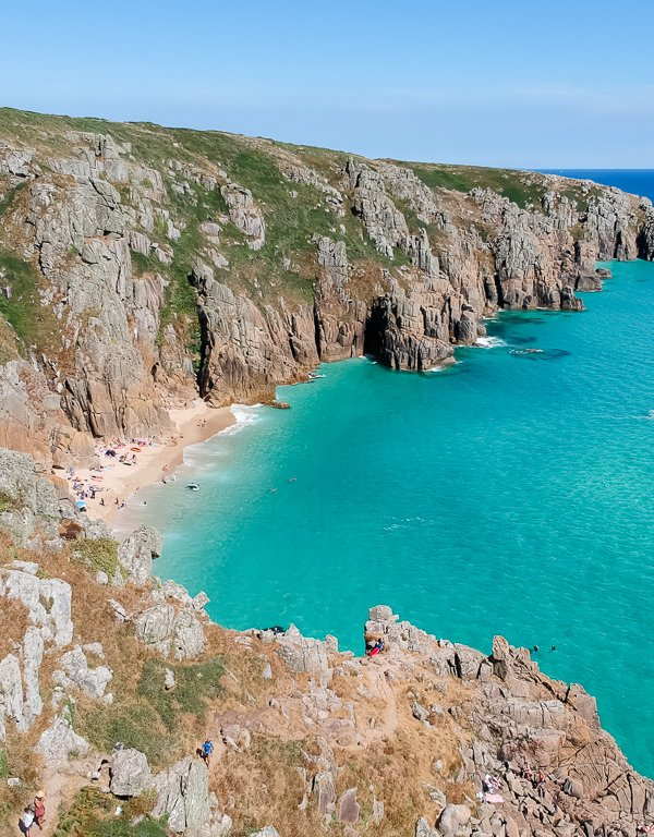 Tips for Visiting Pedn Vounder Beach in Cornwall