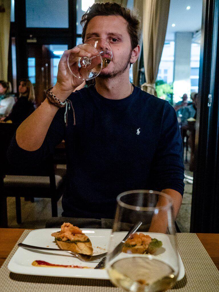 Restaurant Bruchetta in Zadar