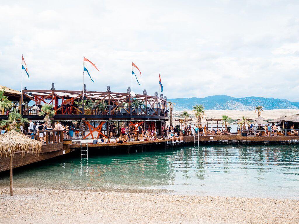 Noa club at Zrce Beach