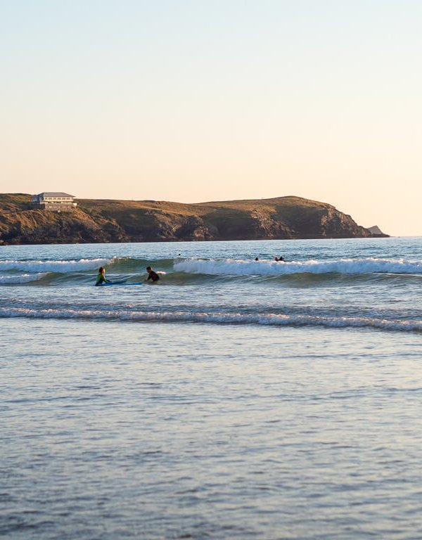 Summer Evenings at Fistral Beach in Newquay