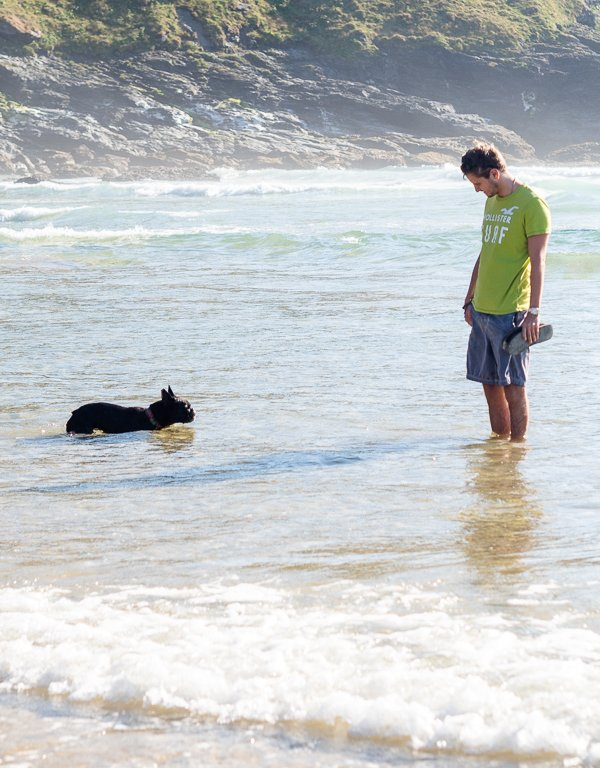 A Weekend with the Dogs at Mawgan Porth