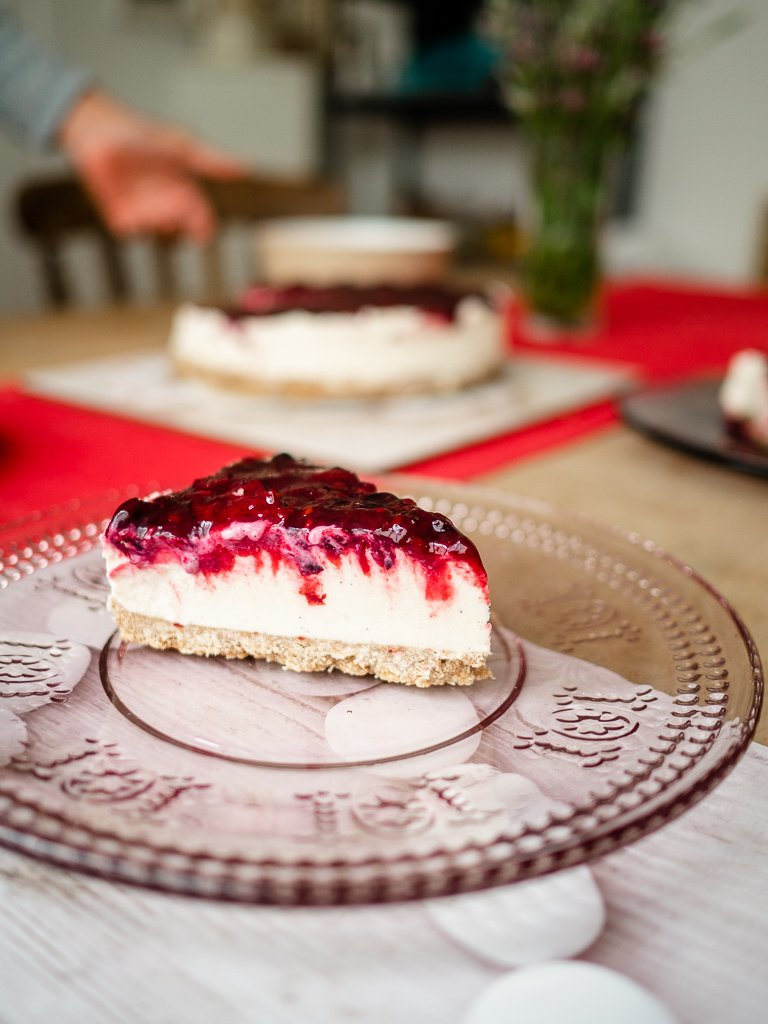 Vegan cheesecake from Falmouth in Cornwall