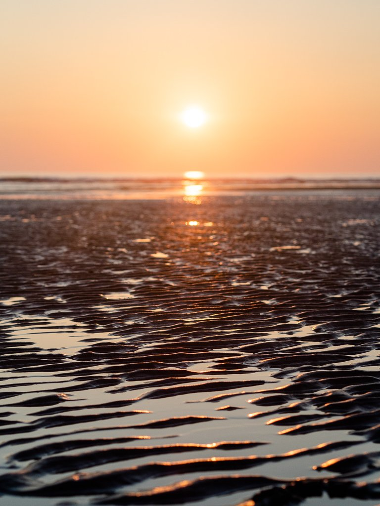 Mawgan Porth beach