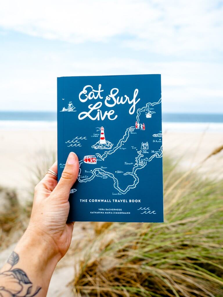 Eat Surf Live - Cornwall Travel Guide Book