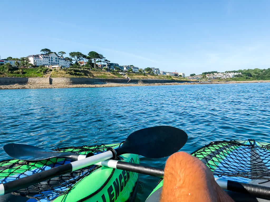Kayaking in Falmouth