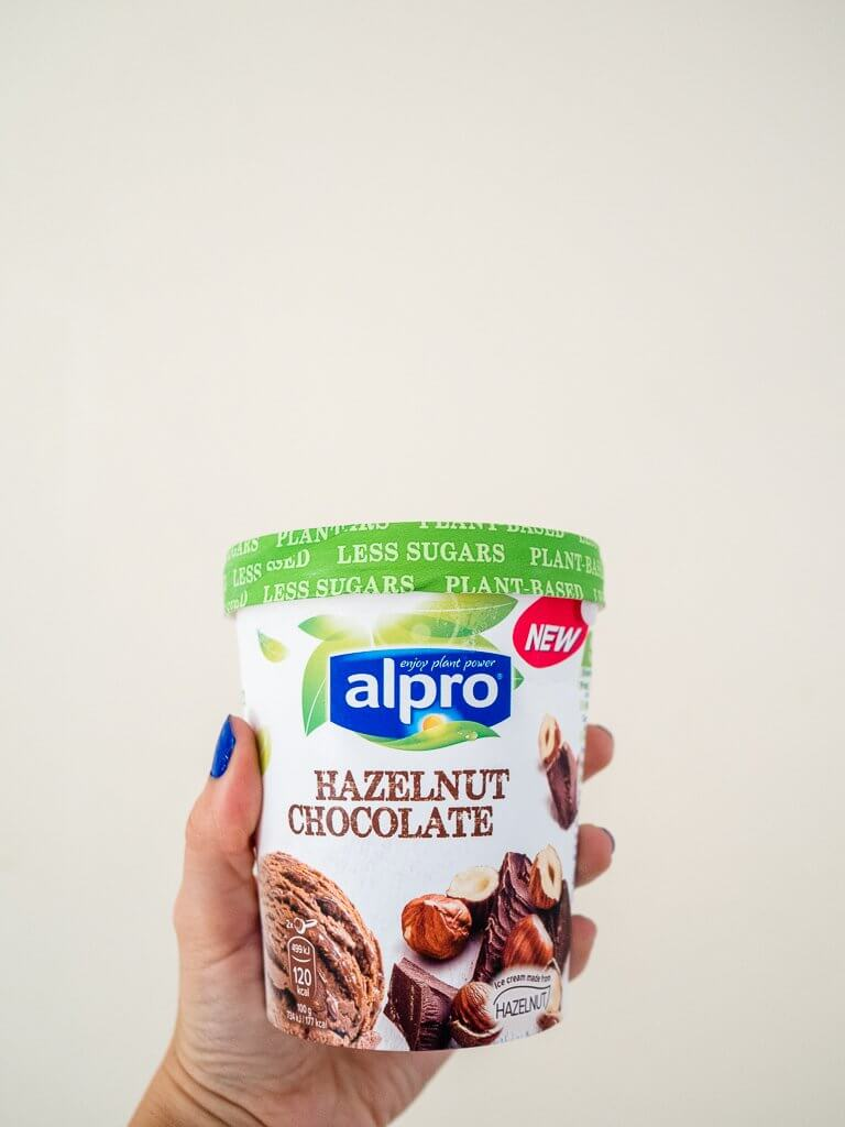 Alpro Hazelnut Chocolate ice cream (vegan / dairy free)
