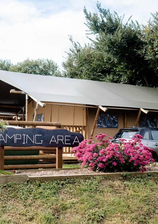 Trevella Park: Safari Tent Glamping in Crantock