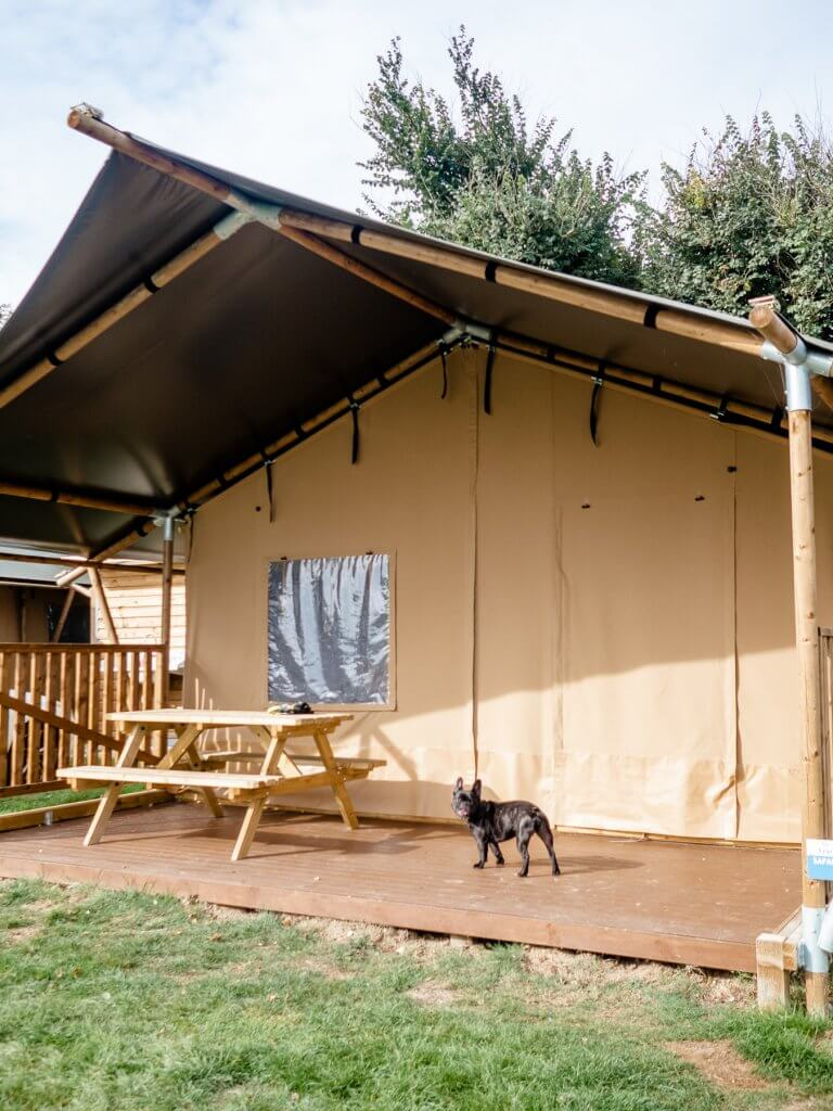Trevella Park safari tents