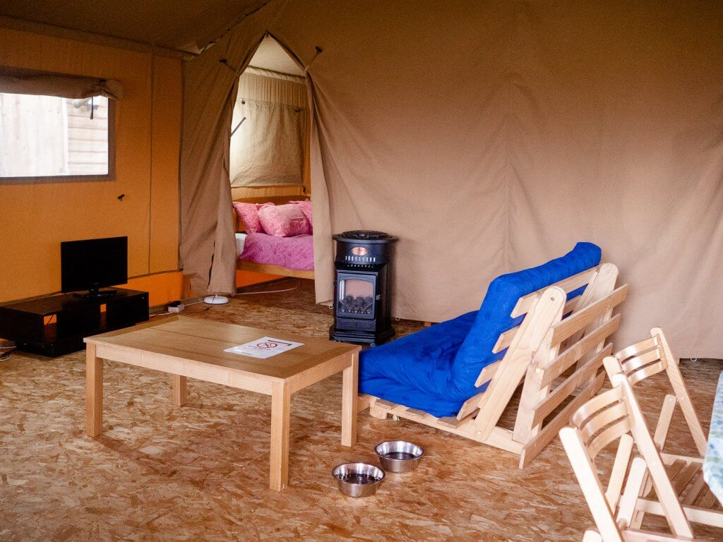 Safari Tent Glamping at Trevella Park