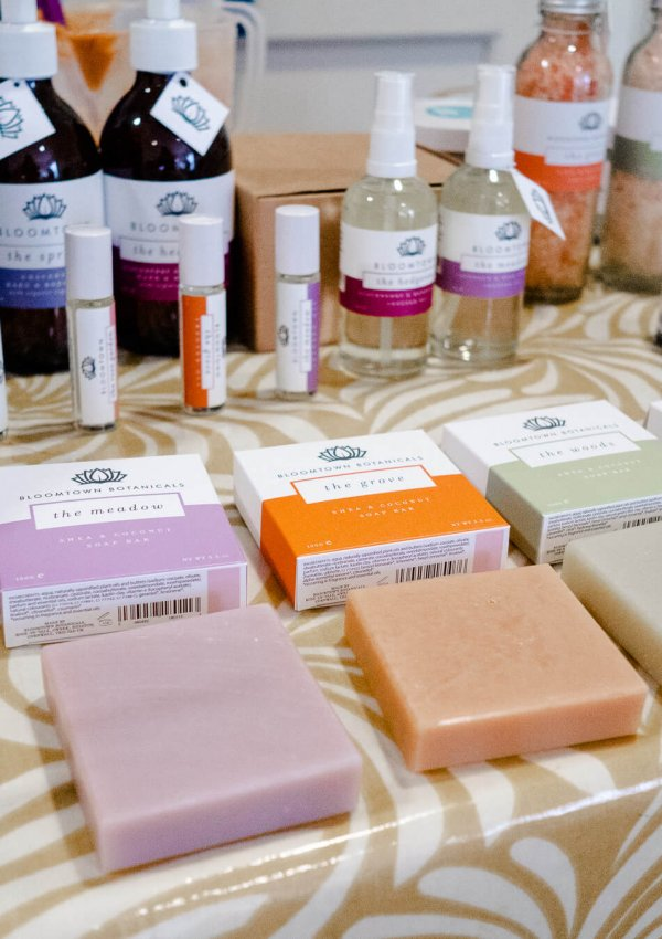 Natural Soap-Making with Bloomtown in Cornwall