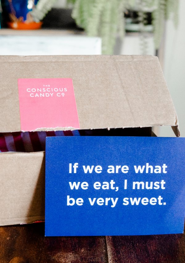 Vegan Pick n' Mix Sweets with The Conscious Candy Company