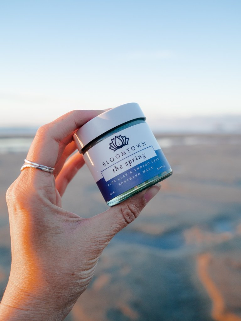 The Spring Clay Mask - palm oil free and vegan