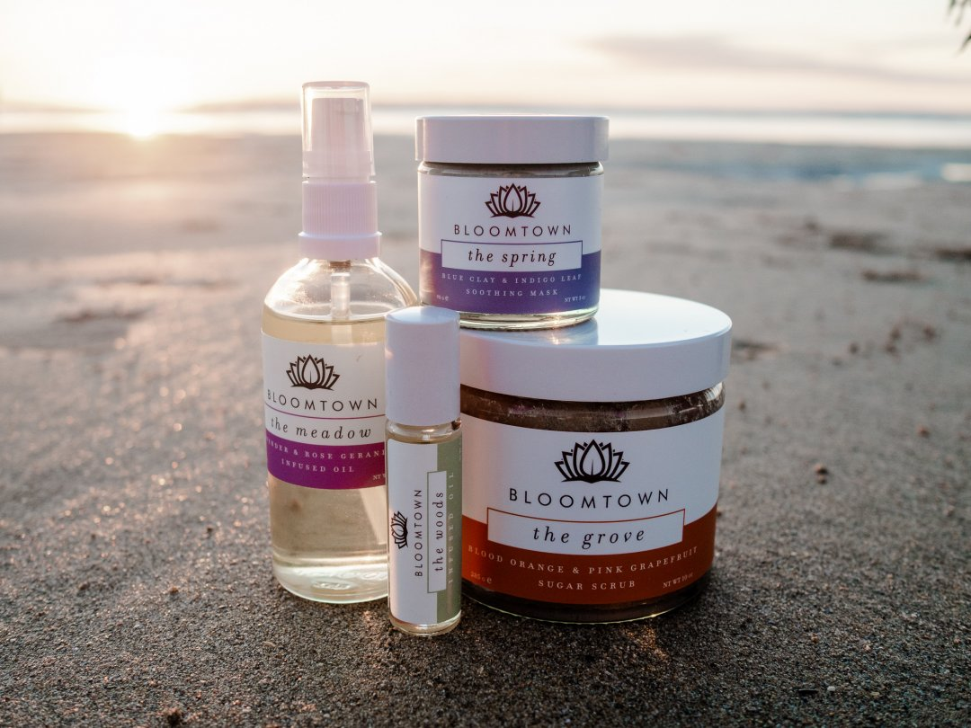 Bloomtown Skincare in Cornwall