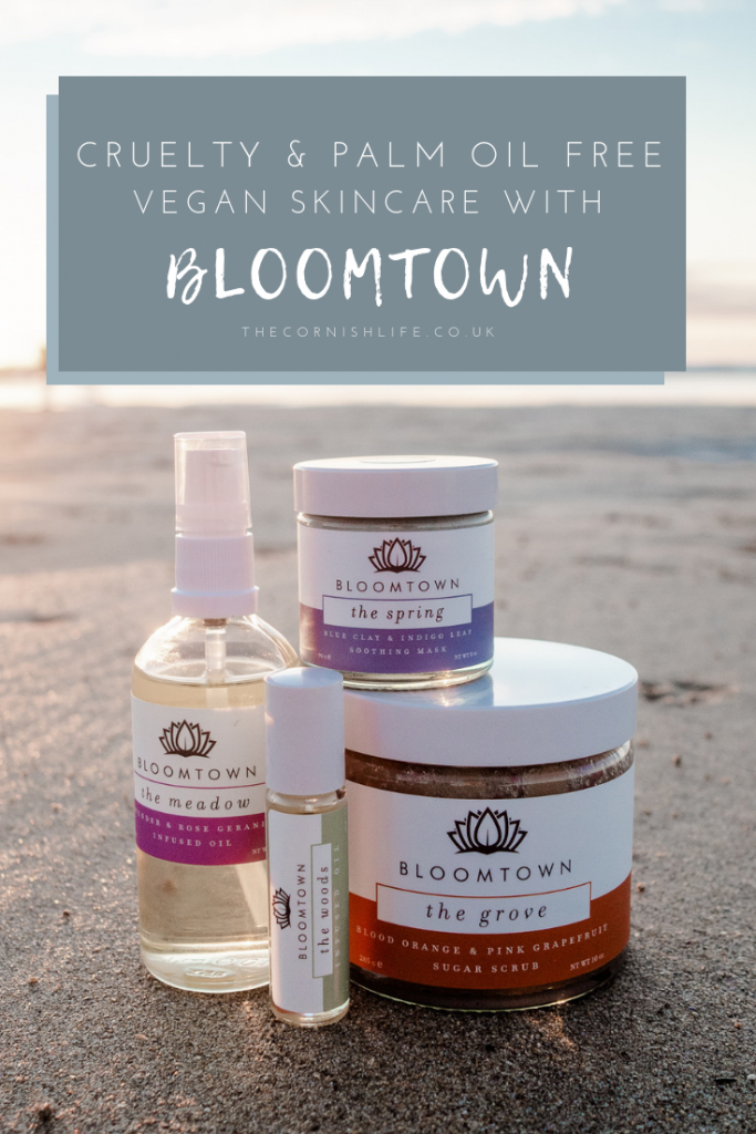 Bloomtown vegan palm oil free skincare
