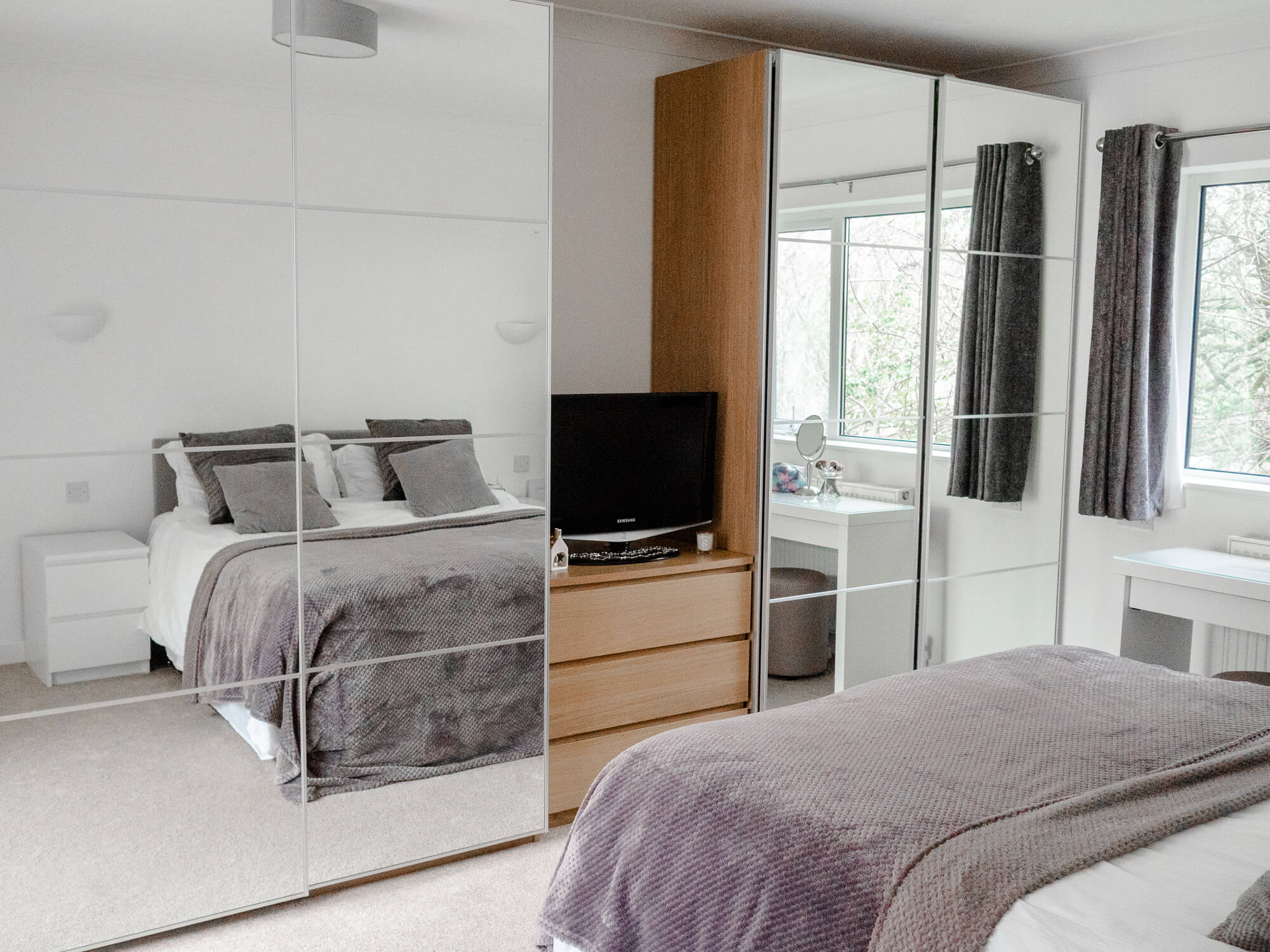 The Luxe Lifestyle Master Bedroom Reveal: Bedroom Makeover: Master & Spare Room Reveal