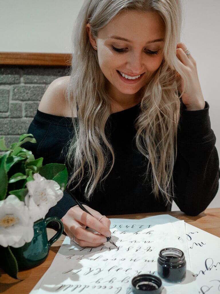 Wild Sea Calligraphy