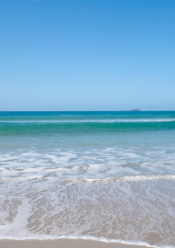 Turquoise Waters at Sennen Cove Beach