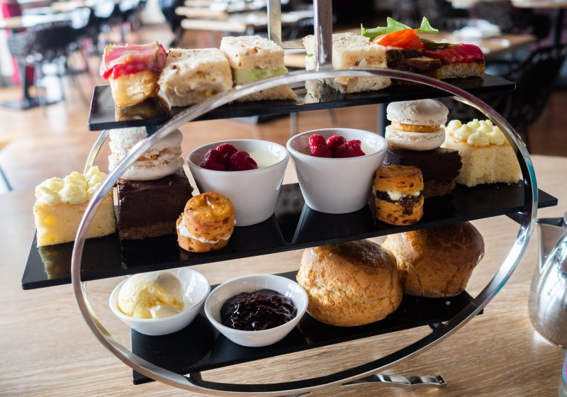 Afternoon Tea at The Scarlet Hotel