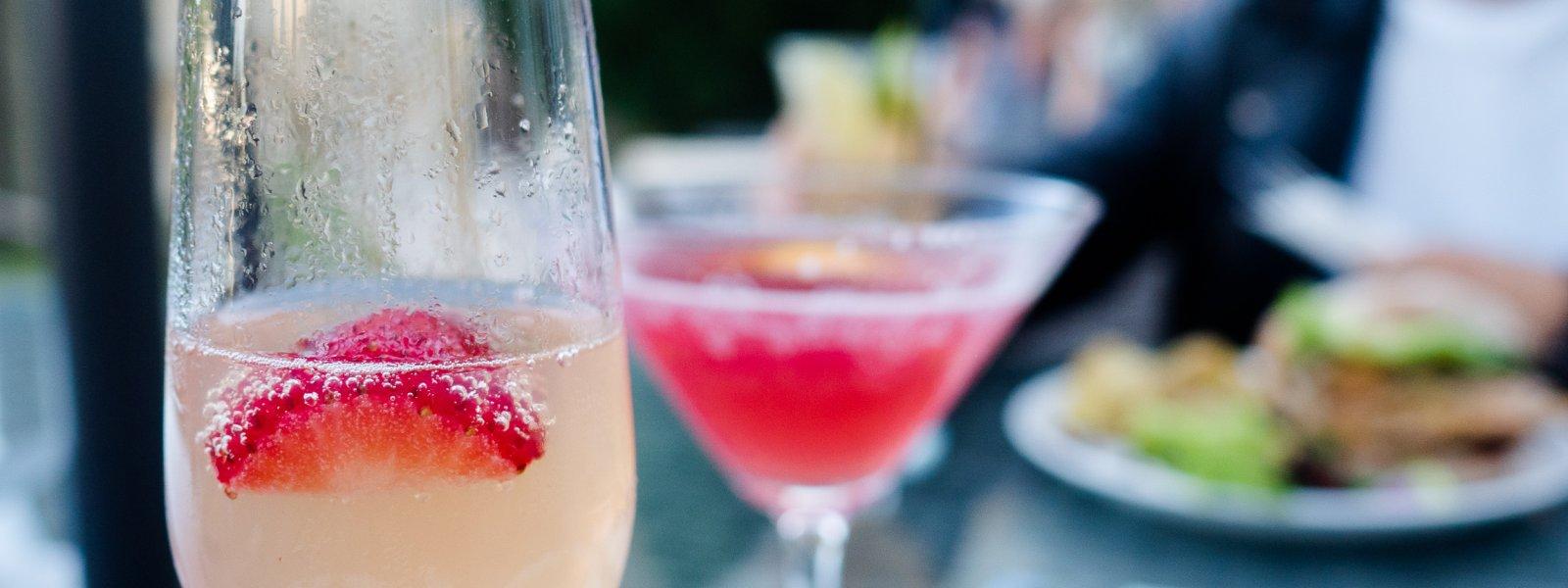 Cocktails & Al Fresco Dining in Truro at The Alverton Hotel