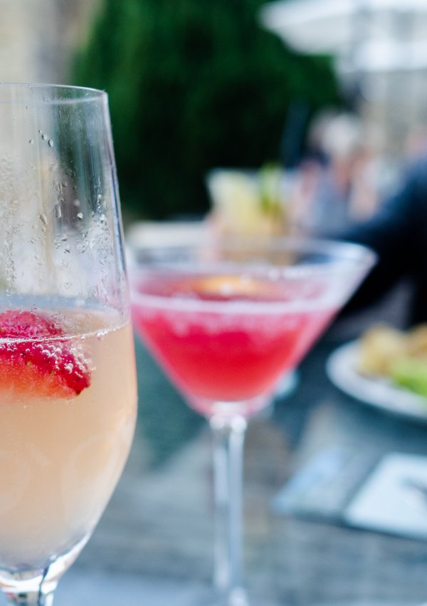 Cocktails & Al Fresco Dining in Truro at The Alverton Hotel