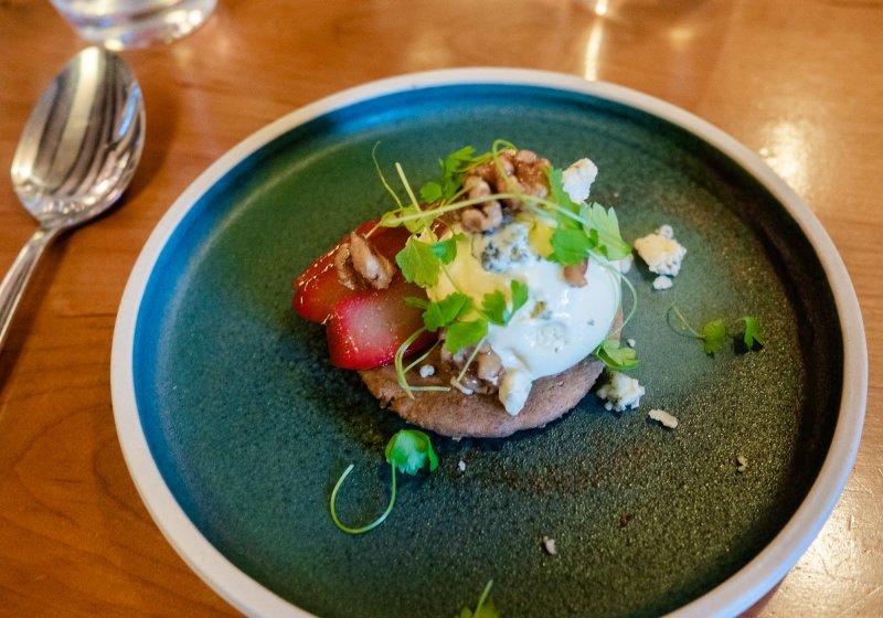 Kota's 7 course taster menu in Porthleven