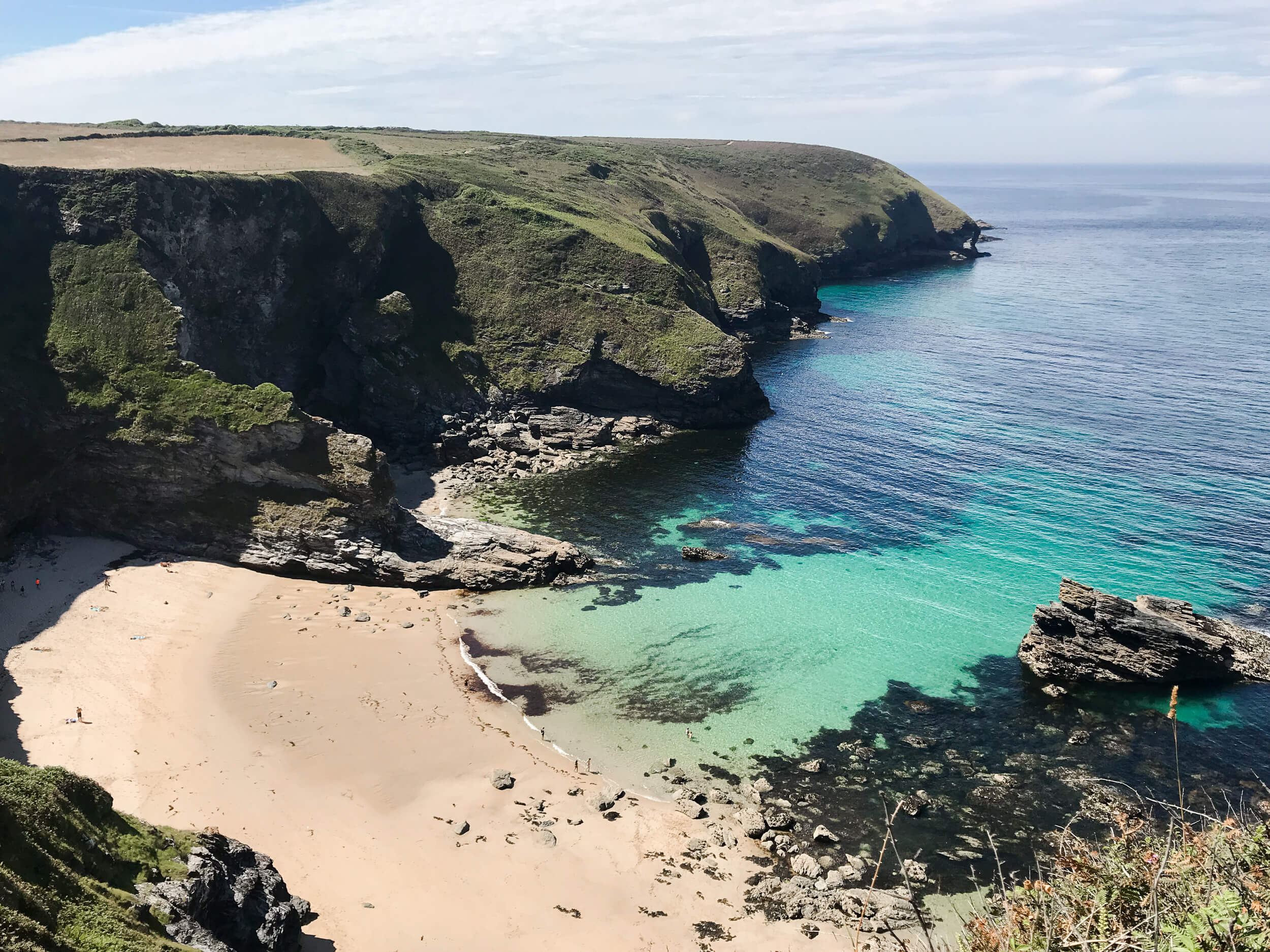 Finding Secret Beaches & Coves in Cornwall   The Cornish ...