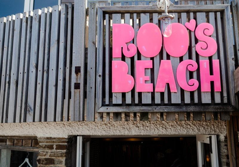 Roos Beach, Porth, Newquay