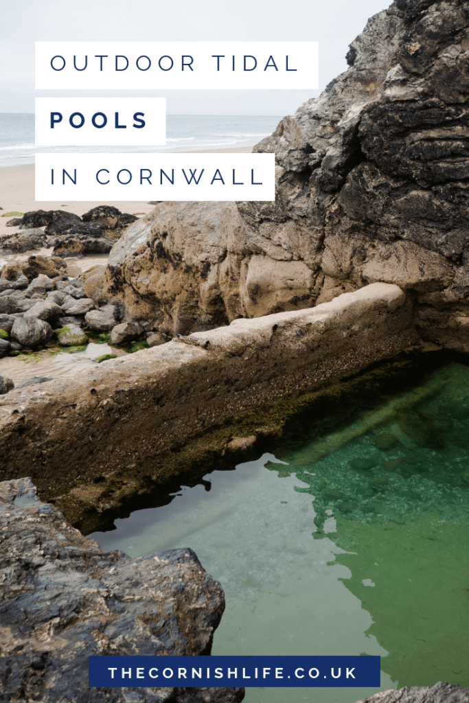 Outdoor natural tidal pools in Cornwall | Cornish beaches