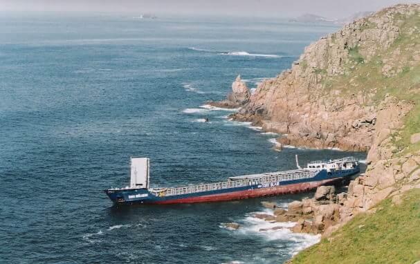 RMS Mulheim shipwreck