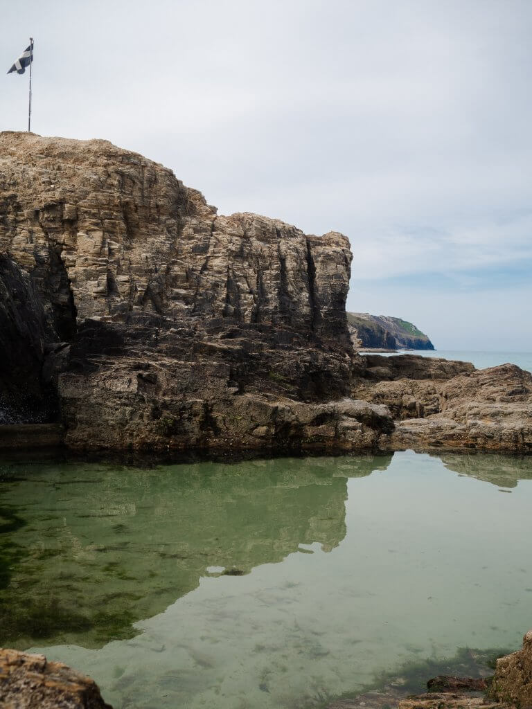 Perranporth tidal pool