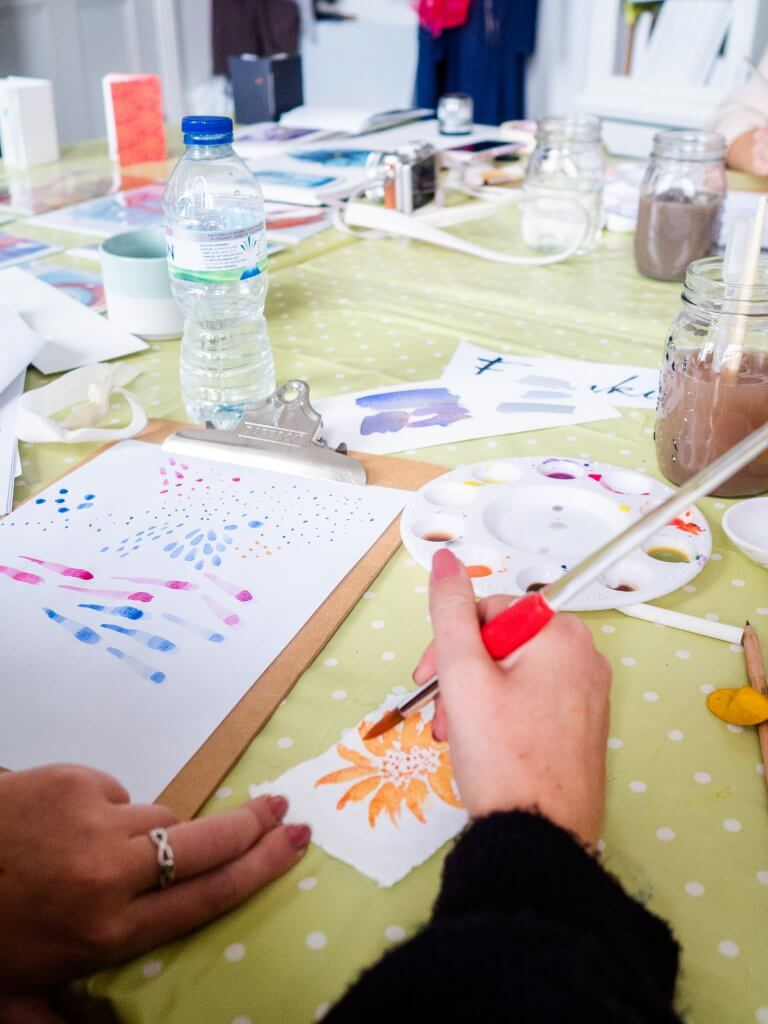 Watercolour Workshops Cornwall