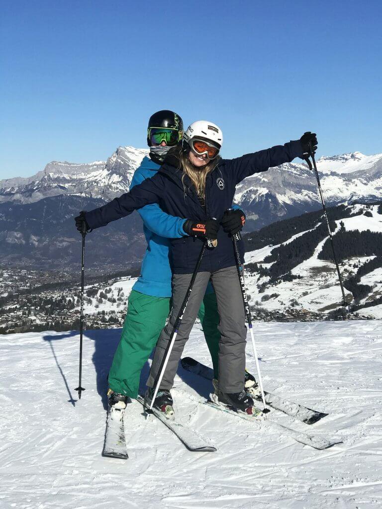 Megeve skiing
