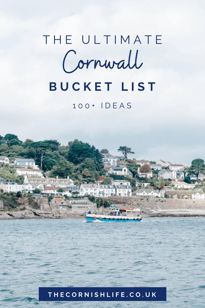 The Ultimate Cornwall Bucket List | 100+ Ideas of things to do in Cornwall | #cornwall #devonandcornwall