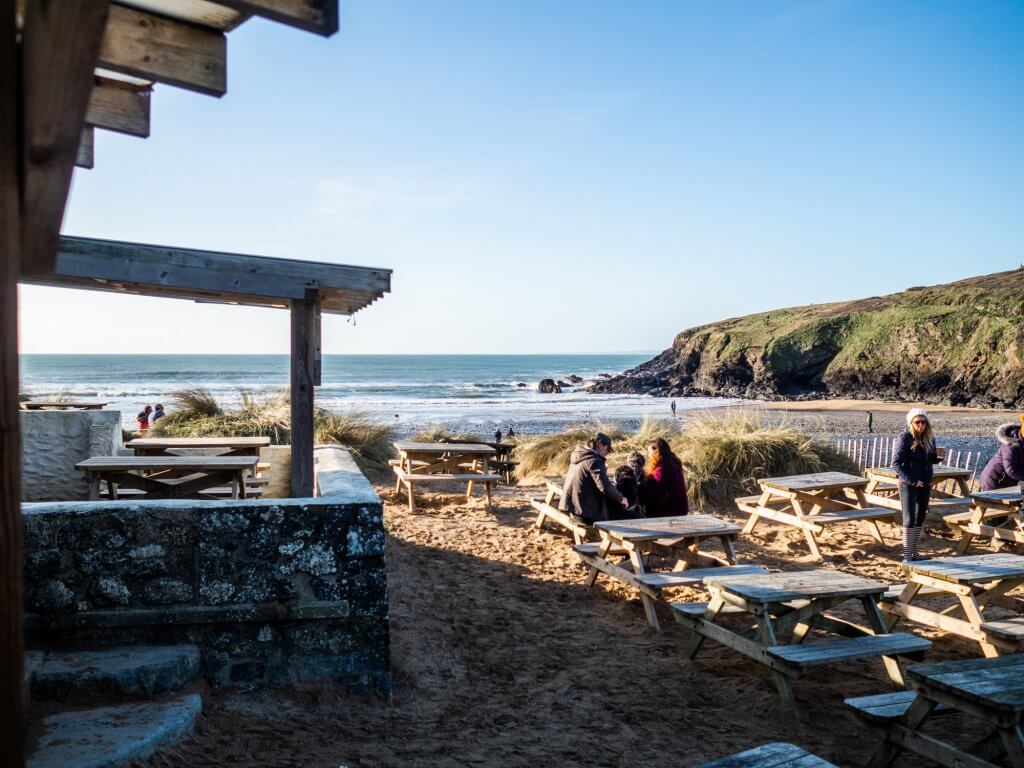 Poldhu Beach Cafe, Cornwall