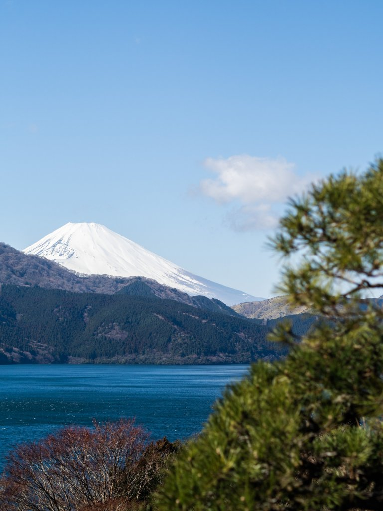 Mount Fuji from Hakone national park