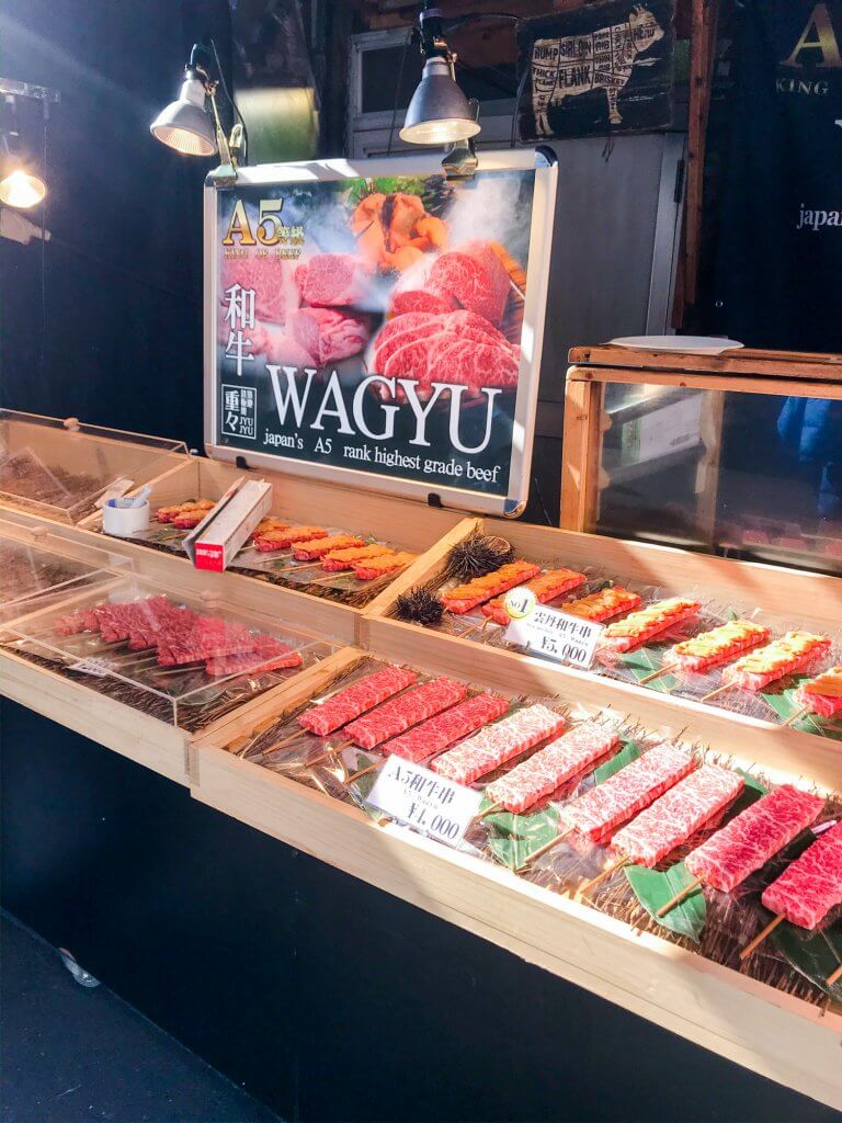 Wagyu beef in Tokyo