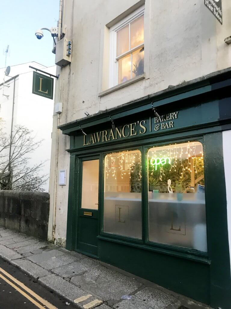 Lawrances Bakery & Bar in Truro, Cornwall