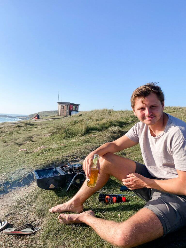 Beach BBQ at Gwithian
